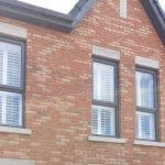 Large and Small plantation Shutters installed in Castlefield Hall, Clonsilla