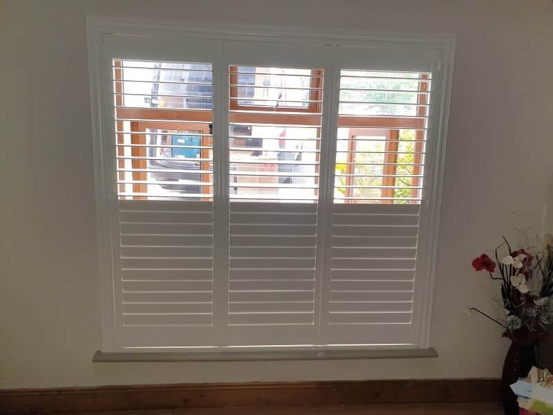 Plantation Shutters installed in Clondalkin, Dublin 24.