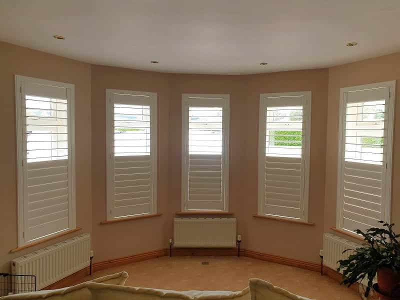 Strong and Durable Plantation Shutters installed in Wicklow.