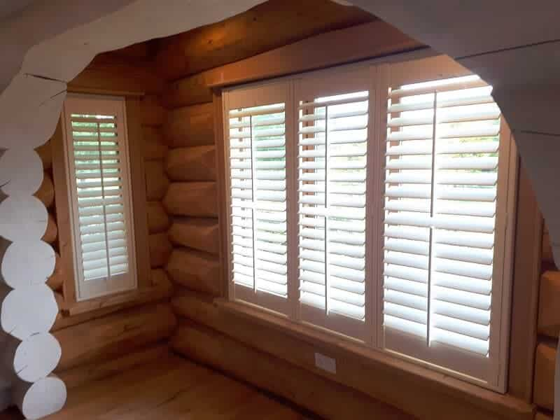 Plantation Shutters installed in Raheny, Co Dublin.