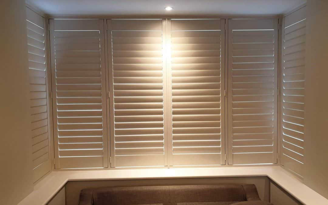 2 Planatation Shutters fitted in Churchtown, Dublin.