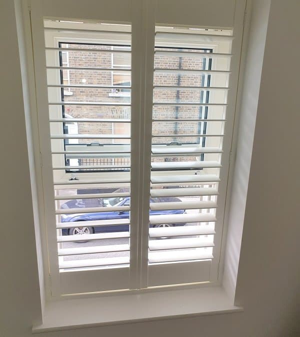 Pleated Blinds and Shutters installed in Portobello, Dublin 8