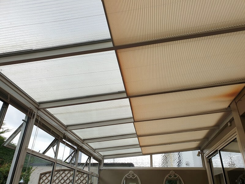 Pleated Roof Blinds installed in Templeogue, Dublin