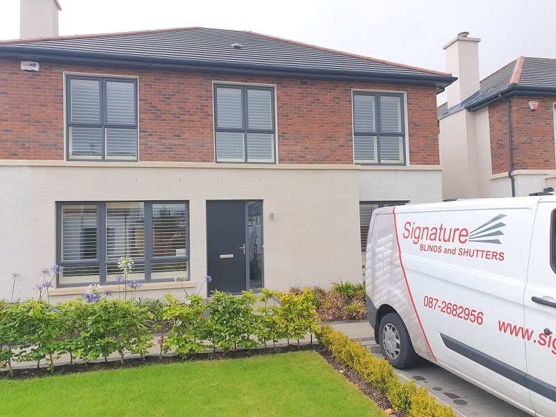 Pearl Plantation Shutters fitted in Lucan, Dublin