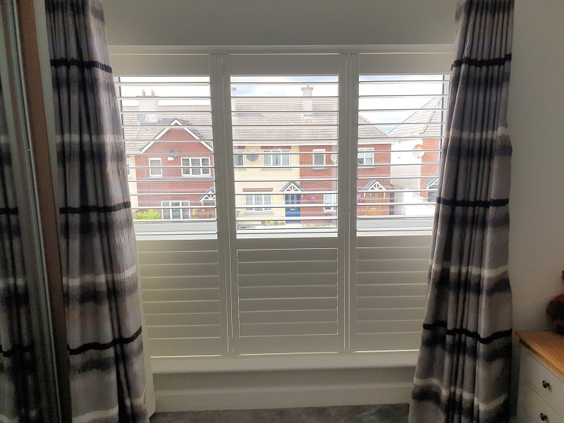 Stunning Bright White Shutters fitted in Arklow, Wicklow.