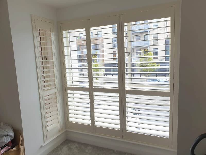 Stunning Pearl Shutters fitted in Royal Canal Park, Dublin 15