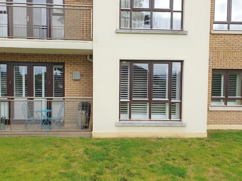 Beautiful and Strong Shutters fitted in Blackrock, Dublin.