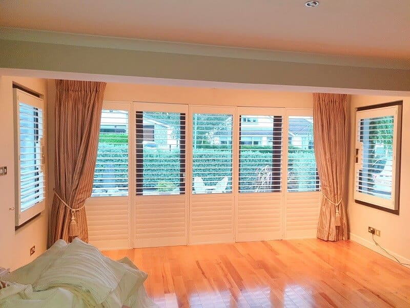 Plantation Shutters installed in Newpark, Dublin 18