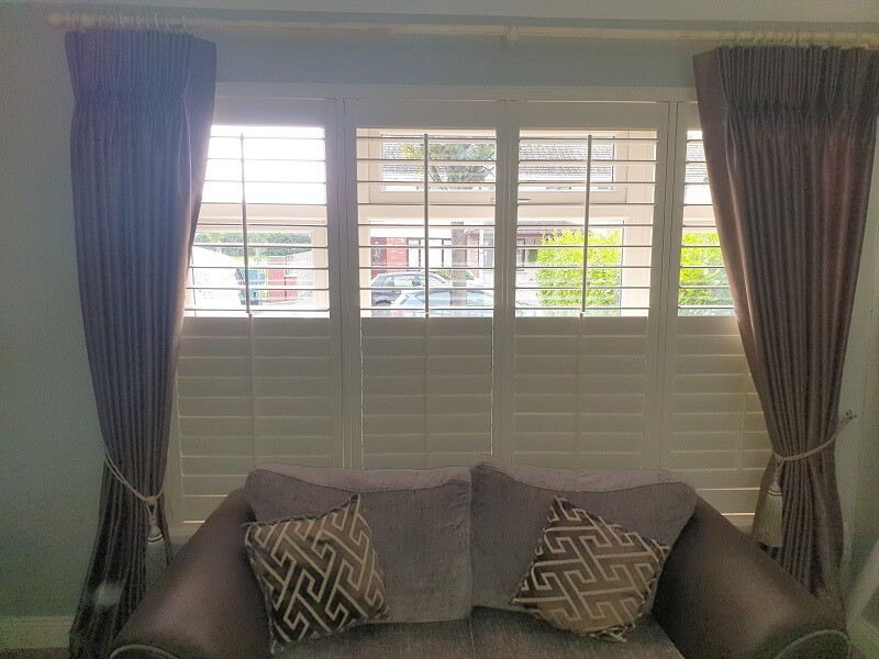 Plantation Shutters installed in Grange Abbey Grove, Dublin 13