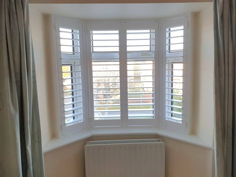 Shutters with hidden tilt installed in Dunboyne, County Meath