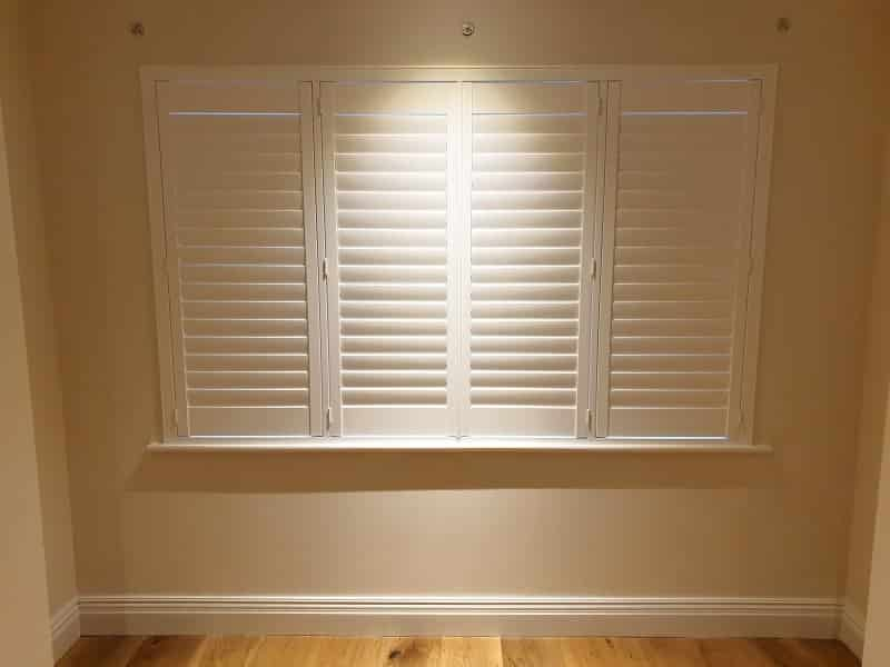 White Plantation Shutters fitted in Dunshaughlin, Co Meath