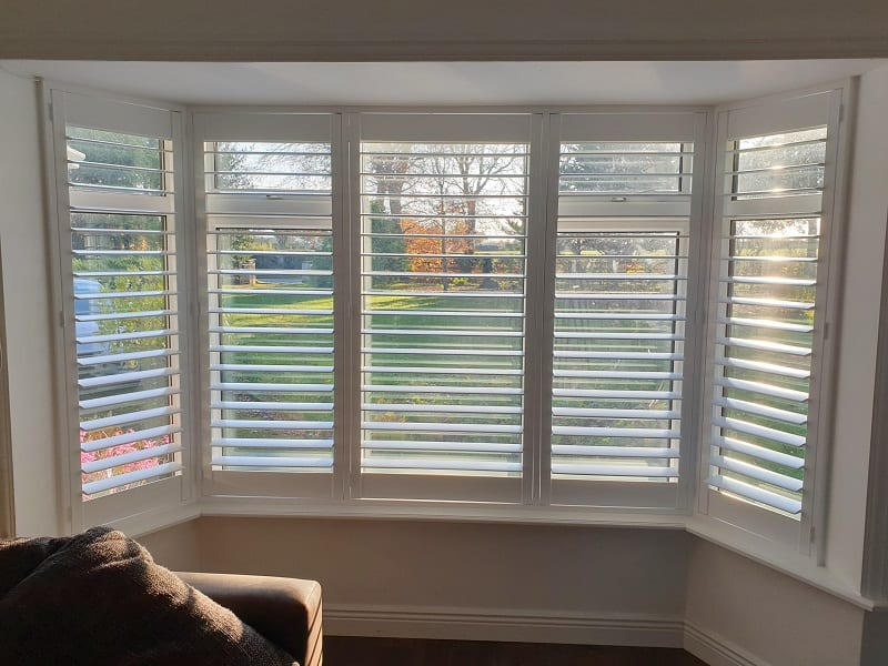 White Plantation Shutters fitted in Dunboyne, Meath