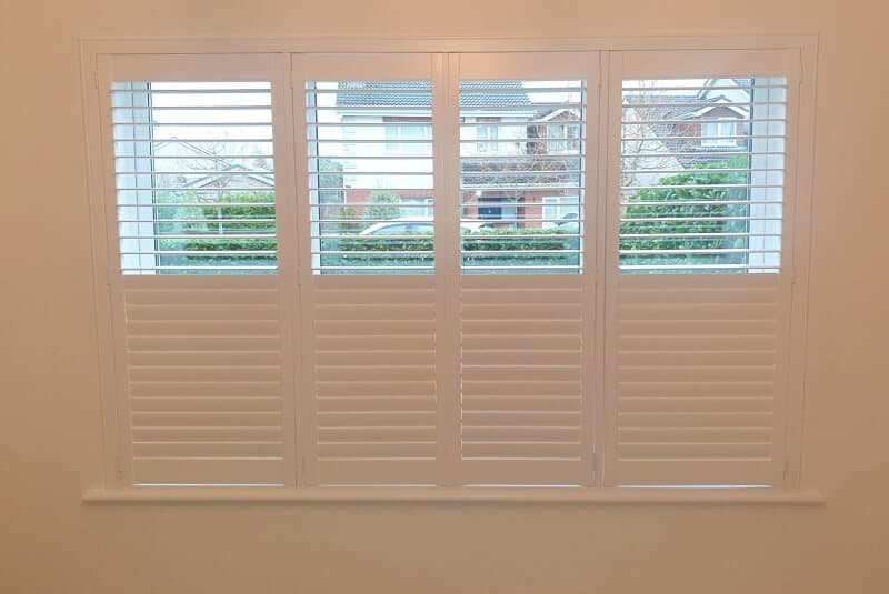 Plantation Shutters fitted in Newbridge, Co Kildare