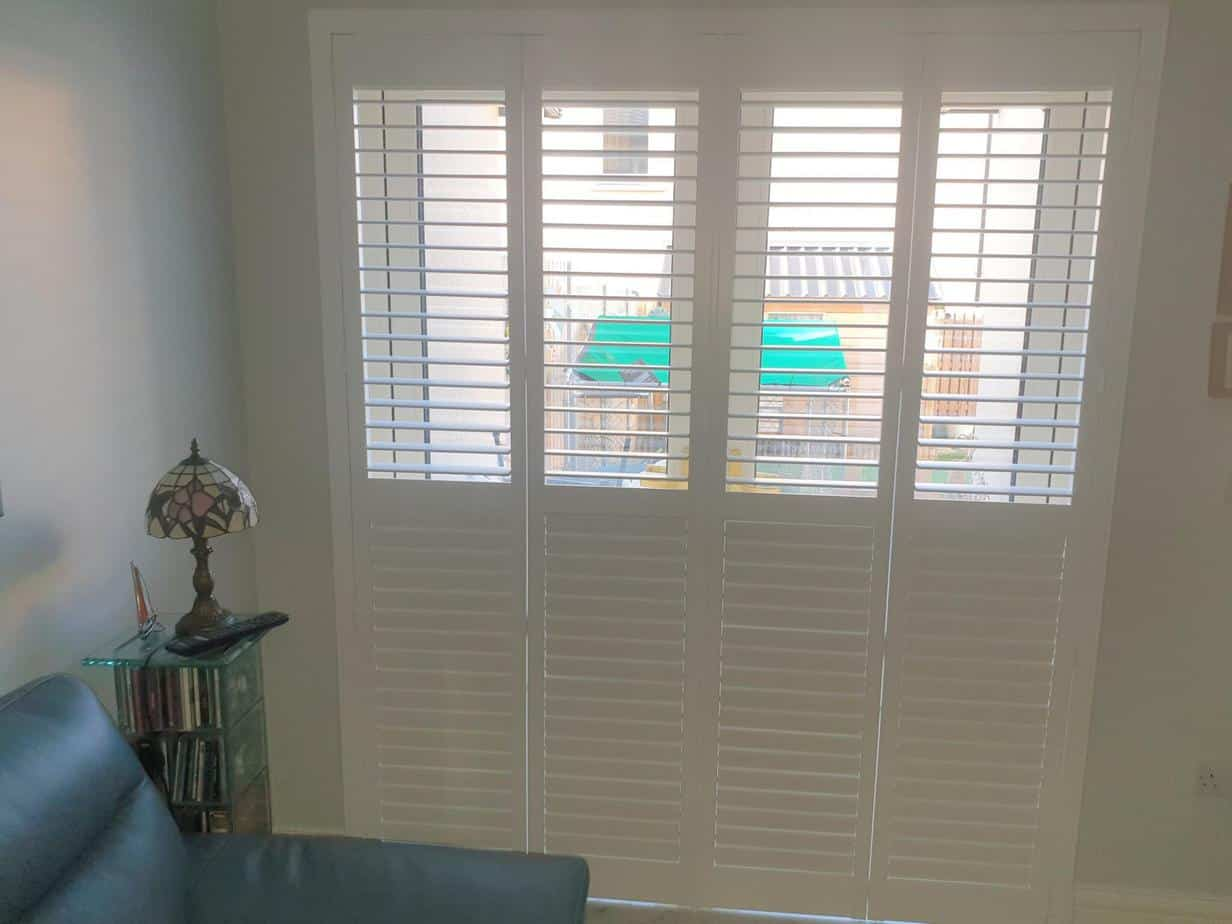 Large And Small Plantation Shutters Fitted In Lusk Dublin