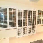 White plantation Shutters installed in Clonshaugh, Dublin 17