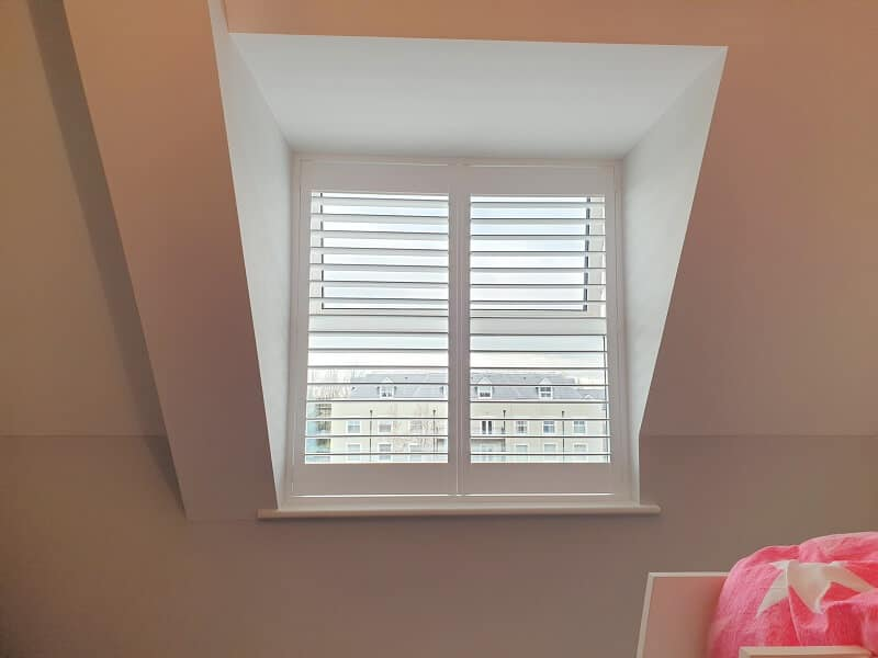 Full height and Cafe Style Shutters fitted in Saggart.