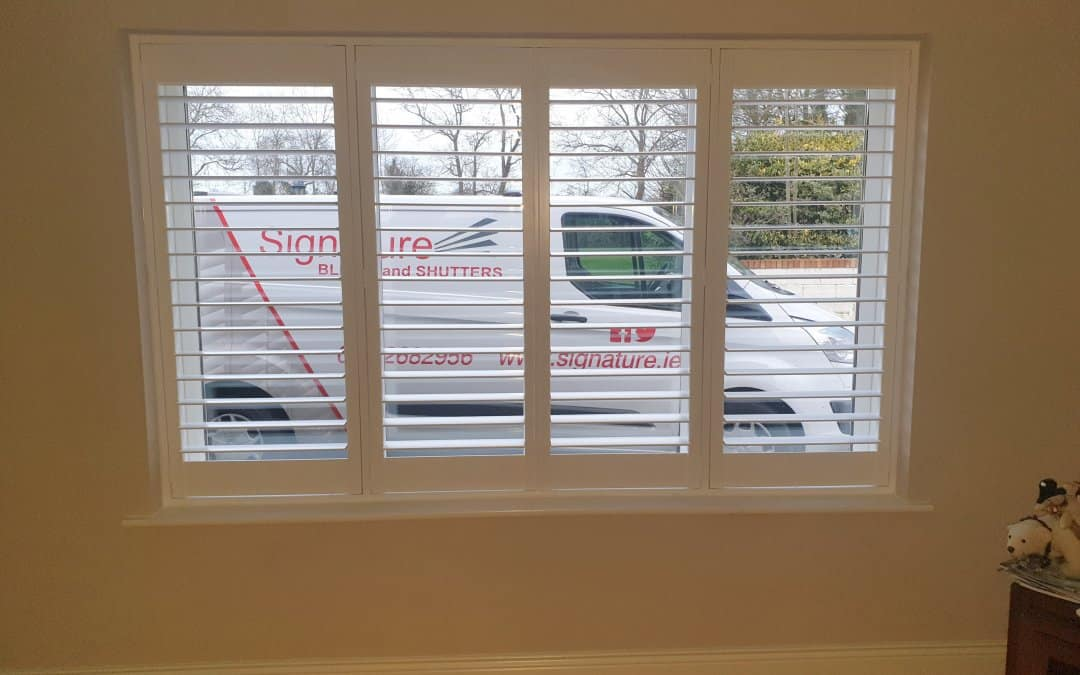 Plantation Shutters installed in Rathfeigh, Co Meath.