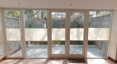 Pleated & Venetian Blinds installed in Donnybrook, Dublin 4