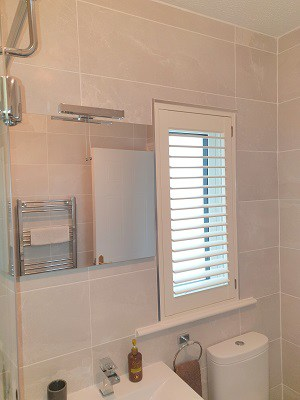 Pearl Plantation Shutters installed in Clonee, Dublin 15