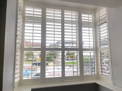 Plantation Shutter installed in Rathmines, Dublin 6
