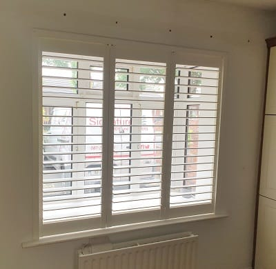 Plantation Shutters installed in Churchtown, Dublin 14
