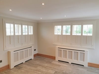 Weston and Vienna Shutters fitted in Athy, Kildare.