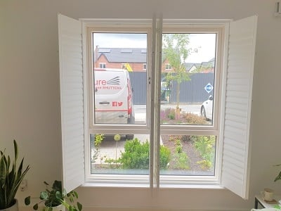 Weston Range Shutters installed in Lucan, Dublin.