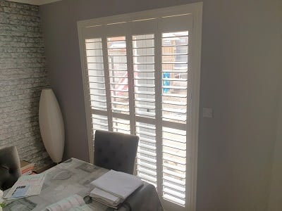 PVC and Wood Shutters installed in Ratoath, Meath.