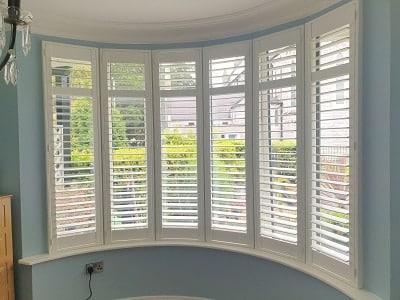 MDF and PVC shutters installed in Rathfarnham, Dublin 16