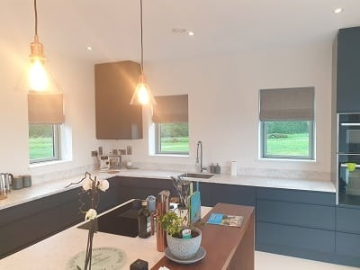 Roman and Duette blinds installed in Termonfeckin, Louth.