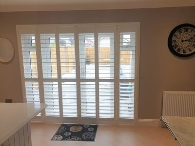 Z-Frame Plantation Shutters fitted in Ratoath, Meath.