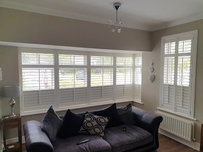 Central Tilt Rod Shutters installed in Balgriffin, County Dublin.