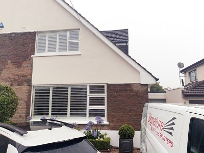 76mm louver Shutters installed in Blackrock, Co Louth