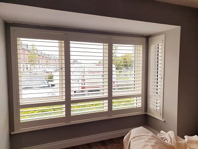 Plantation Shutters installed in Somerton, Lucan, Co Dublin