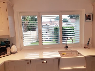 Weston, Legacy and Vienna type of Plantation Shutters fitted in Shankill.