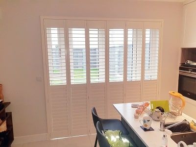 Solidwood, Weston and Titan Shutters fitted in Tullamore, Offally