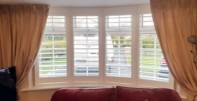 Weston Plantation Shutters fitted in Dunshaughlin, Meath.