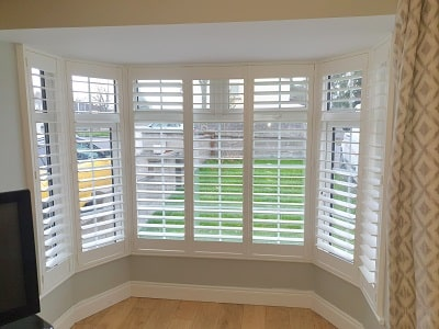 Plantation Shutters from our Weston Range installed in Huntstown, Dublin 15.