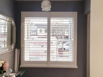 Weston and Vienna Range shutters fitted in Clondalkin, Dublin 22.