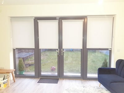Roller and Venetian Blinds installed in the Willows, Dunshaughlin.