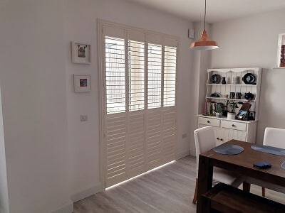 Solidwood Shutters installed in Arklow County Wicklow.