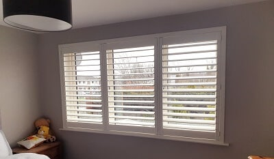 Titan Range Plantation Shutters fitted in Somerton, Lucan, Dublin