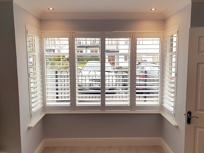 89mm Weston Range Shutters installed in Stepaside, Dublin