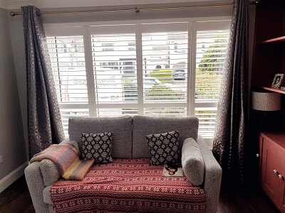 Weston Range Shutters with mid-rails installed in Knocklyon, Dublin 16