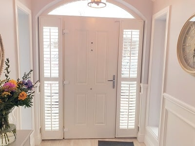 Sidelight Shutters for your hallway