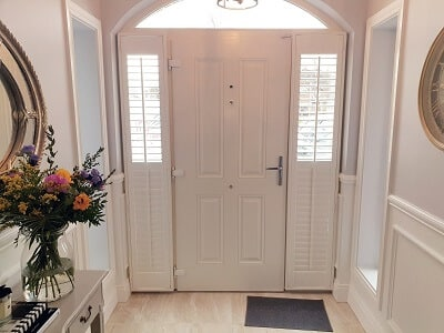 Sidelight Weston Plantation Shutters fitted in Leixlip, Co Kildare.