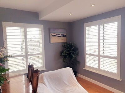 Mixture of Titan and Weston Shutters installed in Malahide, Co Dublin.