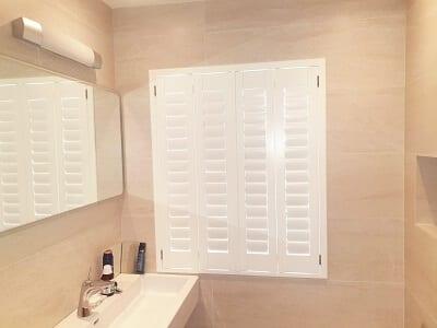 PVC Bathroom Shutter and Screen Roller Blind, Raheny, Dublin 5