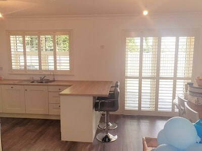 Weston and Solidwood Shutters installed in Kildare.