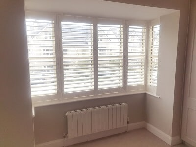 Weston Range Shutters fitted in Pipers Hill, Naas, Kildare.